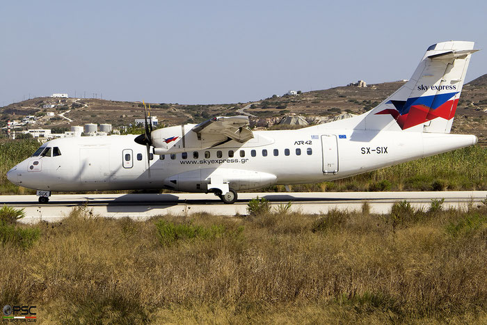 SX-SIX  ATR42-500  544  Sky Express  @ Milos 2020 © Piti Spotter Club Verona
