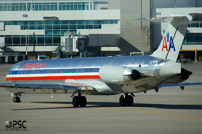 N590AA MD-83 53253/1919 American Airlines @ Denver Airport 25.09.2014 © Piti Spotter Club Verona