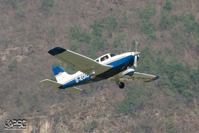 D-EOIC Piper PA-28-181 Archer 3 P28A 2843049 @ Aeroporto di Bolzano © Piti Spotter Club Verona