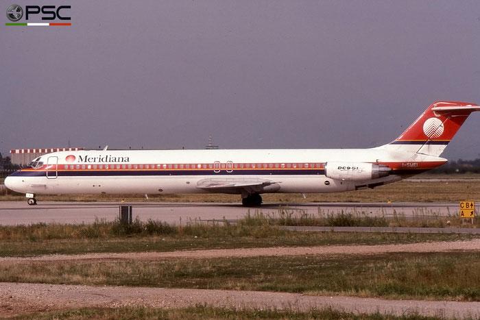 I-SMEI  DC-9-51  47714/824  Meridiana  @ Aeroporto di Verona © Piti Spotter Club Verona