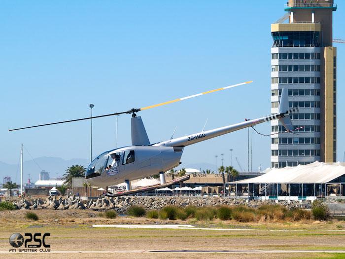 ZS-HGD - Private Robinson R44 Astro / Raven @ Cape Town downtown Heliport Airport 19.03.2014 © Piti Spotter Club Verona