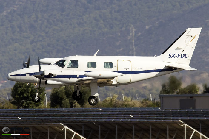 SX-FDC  PA-31T  31T-7720063  Piraeus Leasing SA  @ Athens 2019 © Piti Spotter Club Verona