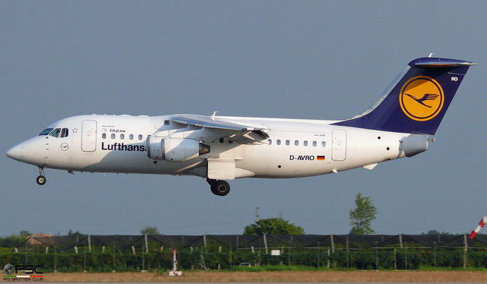 D-AVRO BAe146-RJ85 E2246 Lufthansa @ Aeroporto di Verona   © Piti Spotter Club Verona