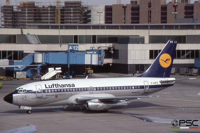 D-ABFZ B737-230 22130/762 Lufthansa © 2018 courtesy of Marco Ceschi - Piti Spotter Club Verona