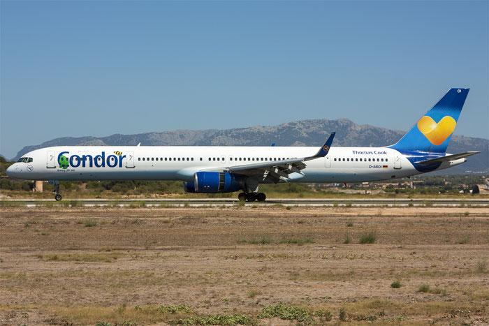 D-ABOI B757-330 29018/909 Condor Flugdienst @ Palma de Mallorca Airport 07.2014 © Piti Spotter Club Verona