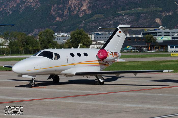 D-IJHO Ce510 510-0306 SVS GmbH @ Aeroporto di Bolzano © Piti Spotter Club Verona