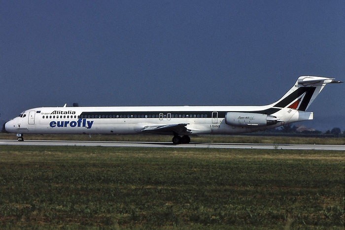 I-DANG  MD-82  53176/1972  Eurofly  @ Aeroporto di Verona © Piti Spotter Club Verona