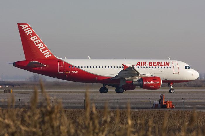 D-ABGH A319-112 3245 Air Berlin @ Venice Airport 11.01.2012 © Piti Spotter Club Verona