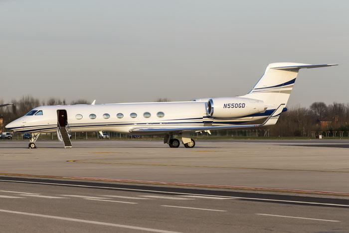 N550GD G550 5305 Gulfstream Aerospace Corp. @ Treviso Airport 15.03.2015 © Piti Spotter Club Verona