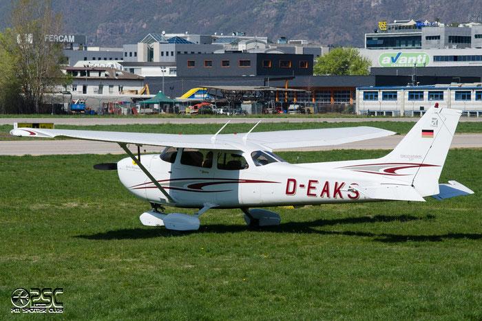 D-EAKS Cessna 172S C172 172S10094 @ Aeroporto di Bolzano © Piti Spotter Club Verona