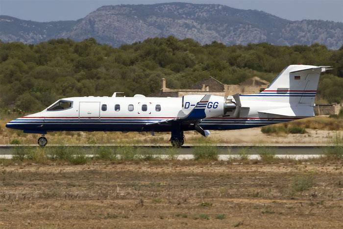 D-CGGG Learjet 31A 31A-227 Gausepohl Fleisch GmbH @ Palma de Mallorca Airport 07.2014 © Piti Spotter Club Verona