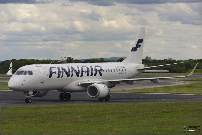 OH-LKG ERJ190LR 19000079 Finnair @ Manchester Airport 21.06.2015 © Piti Spotter Club Verona