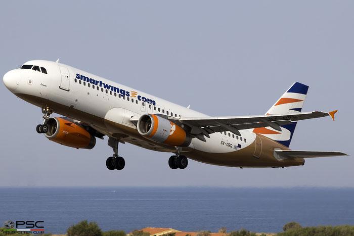 SX-ORG A320-232 1407 Orange2fly @ Heraklion Airport 10.09.2017 © Piti Spotter Club Verona