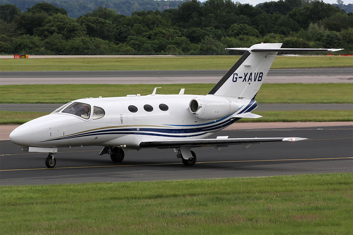 G-XAVB Ce510 510-0283 Aviation Beauport Ltd. @ Manchester Airport 21.06.2015 © Piti Spotter Club Verona