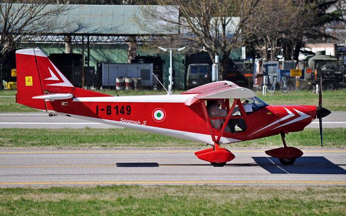 I-B149 - ICP Savannah S - Private @ Aeroporto di Bolzano © Piti Spotter Club Verona