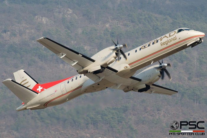HB-IZZ Saab 2000 2000-048 Darwin Airline @ Aeroporto di Bolzano © Piti Spotter Club Verona