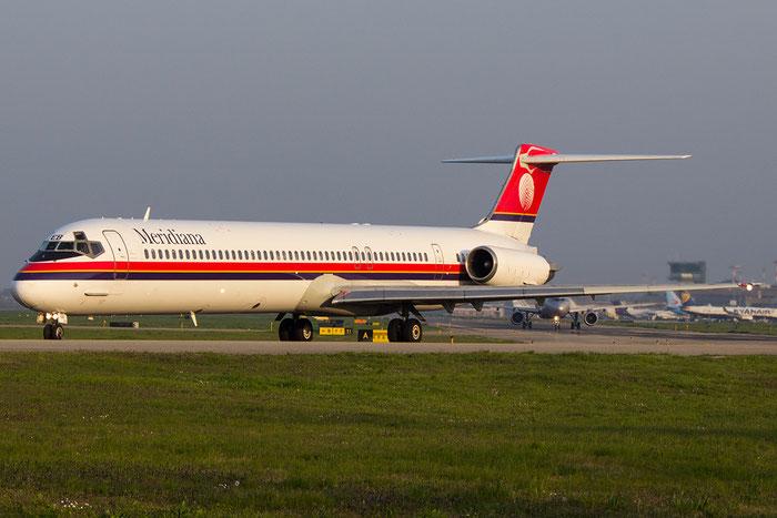 I-SMEB MD-82 53064/1908 Meridiana @ Bologna Airport 14.03.2014 © Piti Spotter Club Verona
