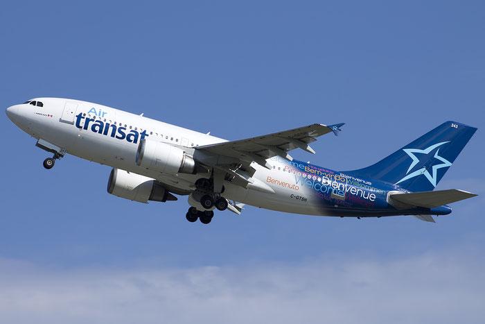 C-GTSH A310-308ET 599 Air Transat @ Venice Airport 20.07.2014 © Piti Spotter Club Verona
