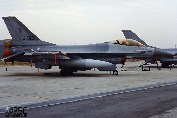 J-512   F-16AM  6D-151  312sq @ Aeroporto di Verona   © Piti Spotter Club Verona