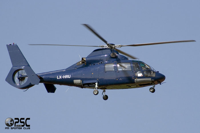 Private - Aérospatiale SA 365N3 Dauphin 2 - LX-HRU @ Aeroporto di Verona © Piti Spotter Club Verona