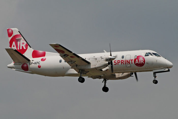 SP-KPC Saab 340A/QC 340A-070 SprintAir @ Aeroporto di Verona 12.07.2017  © Piti Spotter Club Verona