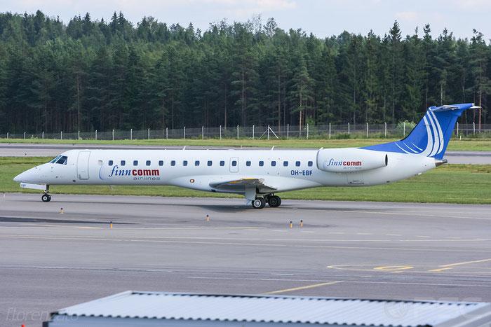 OH-EBF ERJ145LU 145387 FinnComm Airlines @ Helsinki Airport 2008 © Piti Spotter Club Verona