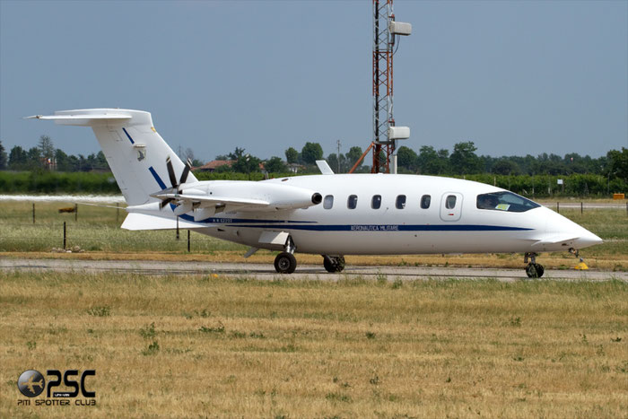 MM 62202-  Italy - Air Force Piaggio P-180AM Avanti - MM62202 @ Aeroporto di Verona © Piti Spotter Club Verona