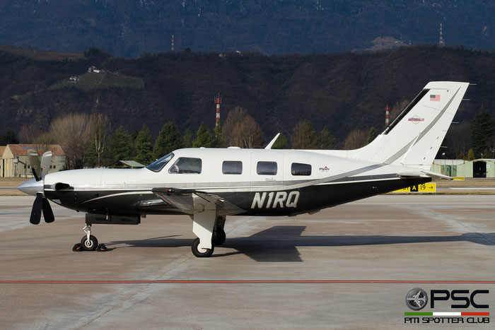 N1RQ PA-46-500TP 4697112 P. van Lieshout @ Aeroporto di Bolzano © Piti Spotter Club Verona