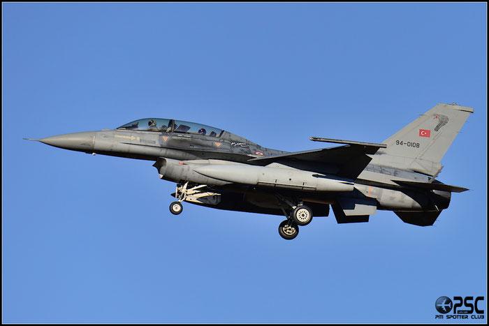 94-0108   F-16D-50-CF  HD-10  151 Filo © Piti Spotter Club Verona