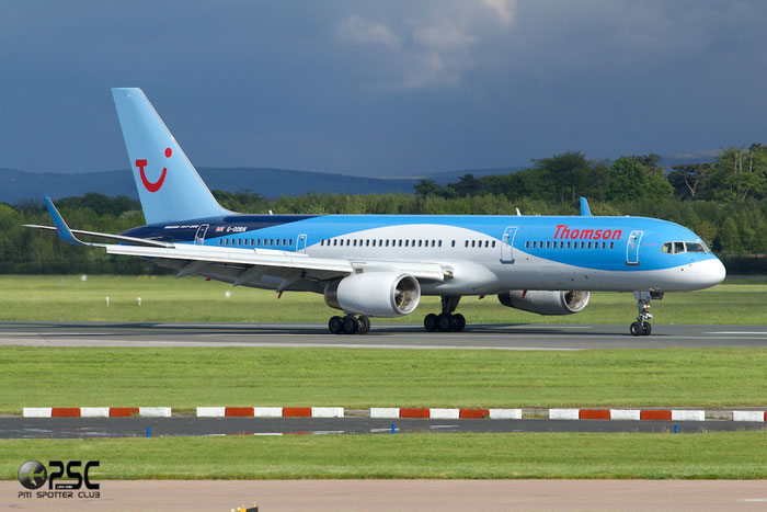 G-OOBN B757-2G5 29379/919 Thomson Airways @ Manchester Airport 13.05.2014 © Piti Spotter Club Verona