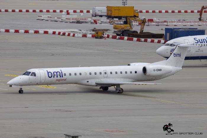 G-EMBI ERJ145EU 145126 BMI Regional @ Munich Airport 15.05.2016 © Piti Spotter Club Verona