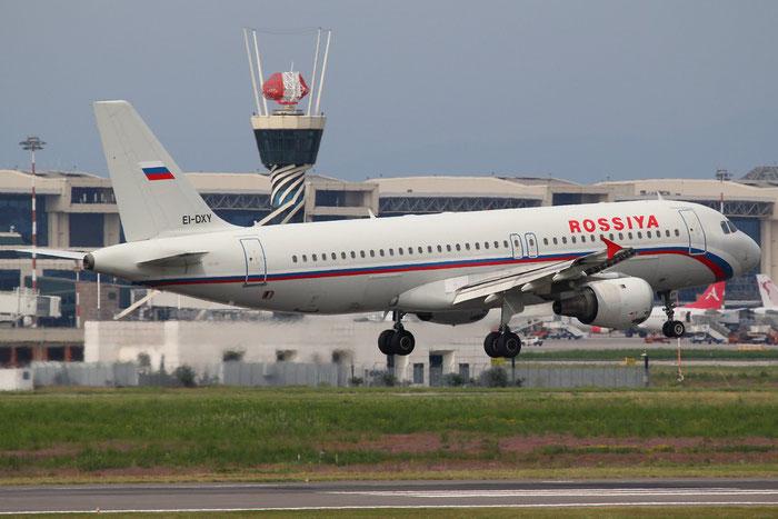 EI-DXY A320-212 525 Rossiya - Russian Airlines @ Milano Malpensa Airport 31.08.2014 © Piti Spotter Club Verona
