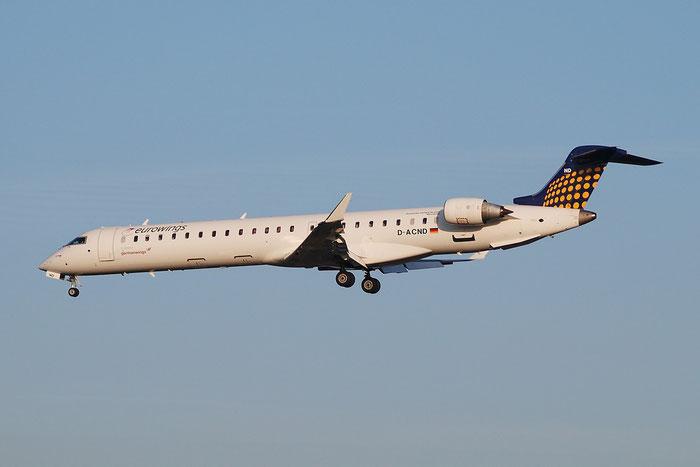 D-ACND CRJ900LR 15238 Eurowings @ Milano Malpensa Airport 23.11.2014 © Piti Spotter Club Verona