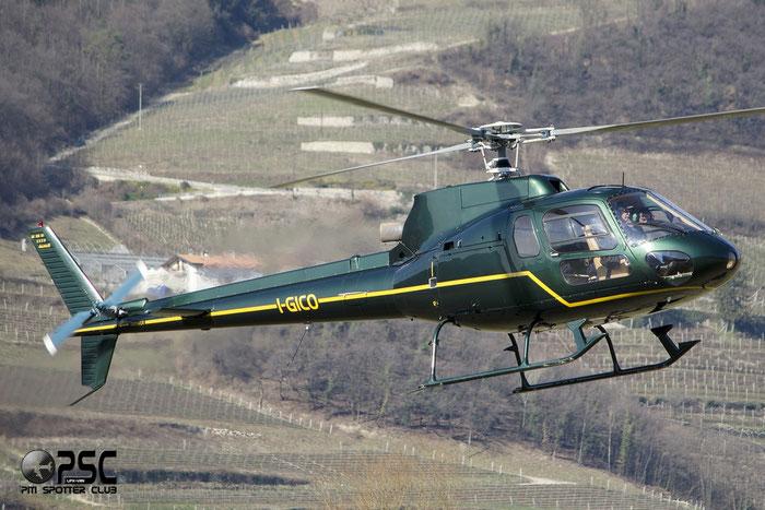 I-GICO - Aérospatiale AS 350B1 Ecureuil - Private @ Aeroporto di Trento © Piti Spotter Club Verona