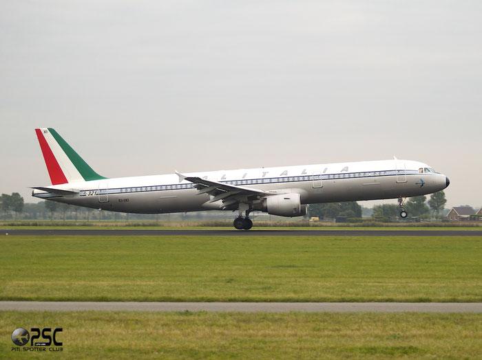 EI-IXI A321-112 494 Alitalia @ Amsterdam Airport 20.09.2013 © Piti Spotter Club Verona