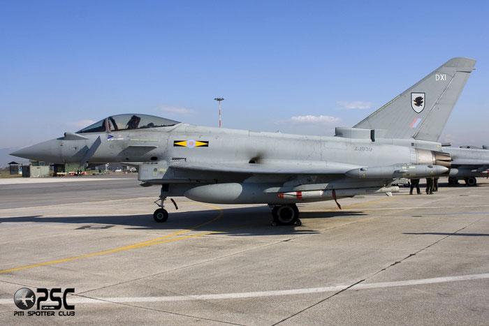 ZJ939  939  Typhoon FGR4  124/BS032  IX(B)sq © Piti Spotter Club Verona