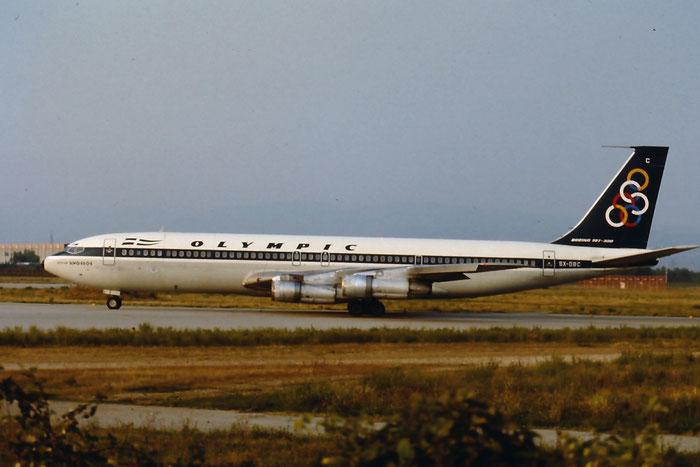 SX-DBC  B707-384C  18950/504  Olympic Airways  @ Aeroporto di Verona © Piti Spotter Club Verona