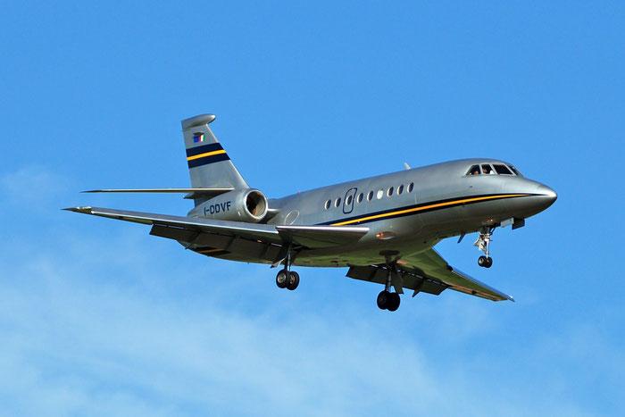 I-DDVF Falcon 2000 161 Del Air @ Aeroporto di Verona   © Piti Spotter Club Verona