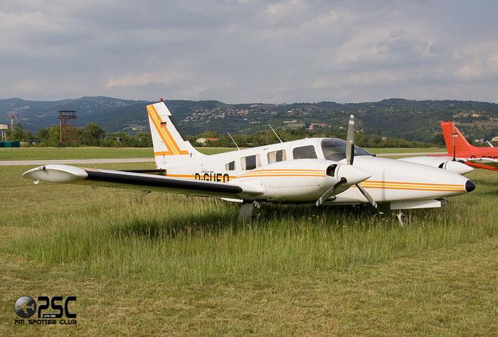 D-GUFO - Piper PA-34 Seneca @ Aeroporto Verona Boscomantico © Piti Spotter Club Verona