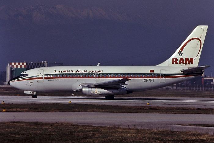 CN-RMJ B737-2B6 21215/452 Royal Air Maroc @ Aeroporto di Verona - © Piti Spotter Club Verona