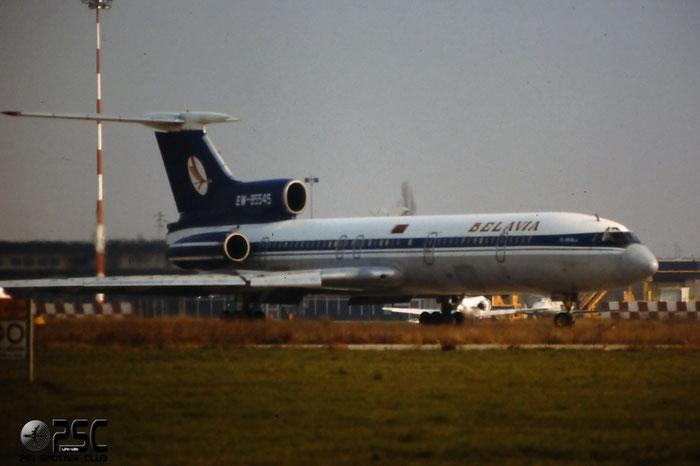 EW-85545 Belavia - Tu-154  @ Aeroporto di Verona © Piti Spotter Club Verona