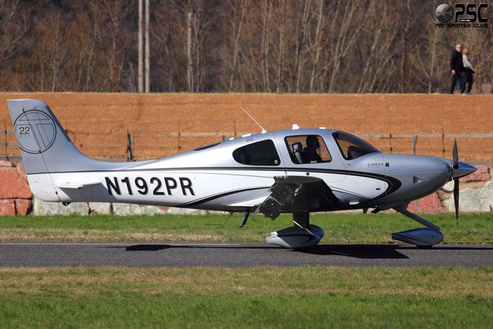 N192PR Cirrus Design Corp SR-22T SR22 0478 Aircraft Guaranty Corp Trustee, TX @ Aeroporto di Trento © Piti Spotter Club Verona