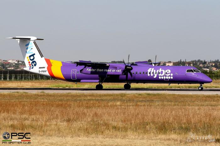 G-PRPF DHC-8-402 4195 Flybe - British European  @ Aeroporto di Verona 23.08.2017  © Piti Spotter Club Verona