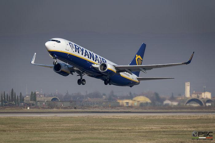EI-FOW B737-8AS 44729/5826 Ryanair@ Aeroporto di Verona 05.01.2019  © Piti Spotter Club Verona