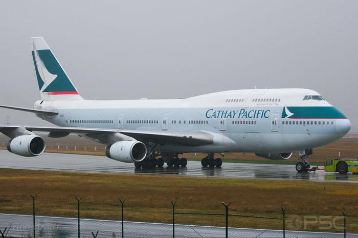 B-HUA  B747-467  25872/930  Cathay Pacific Airways @ Frankfurt 2007 © Piti Spotter Club Verona