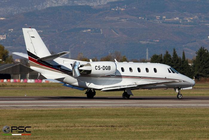 CS-DQB  Ce560XLS  560-5803  NetJets Europe @ Aeroporto di Verona 11.2020  © Piti Spotter Club Verona