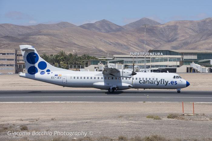 EC-JEV ATR72-212A 717 Canaryfly @ Fuerteventura Airport 08.2017 © Piti Spotter Club Verona