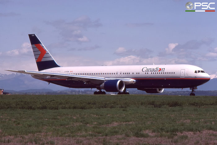 C-FCAF B767-375ER 24084/219 Canadian Airlines International © 2018 courtesy of Marco Ceschi - Piti Spotter Club Verona