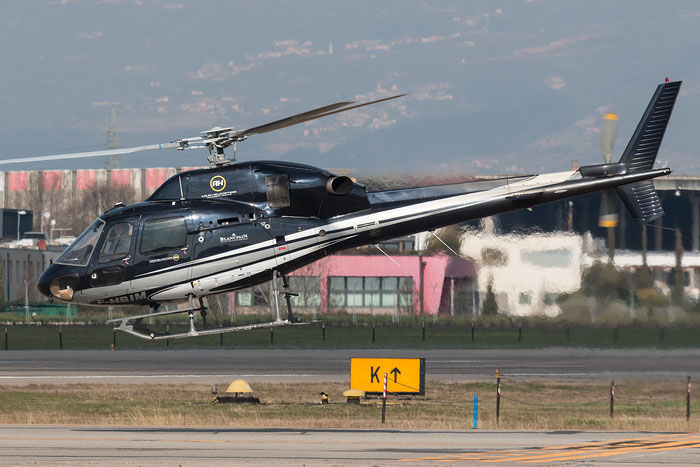 F-HBIM Azur Helicoptere Eurocopter AS-355N Ecureuil 2 @ Aeroporto di Verona - 2016 © Piti Spotter Club Verona