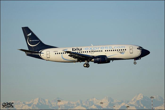 I-BPAI B737-31S 29060/2979 Blu-Express @ Milano Malpensa Airport 25.01.2014  © Piti Spotter Club Verona